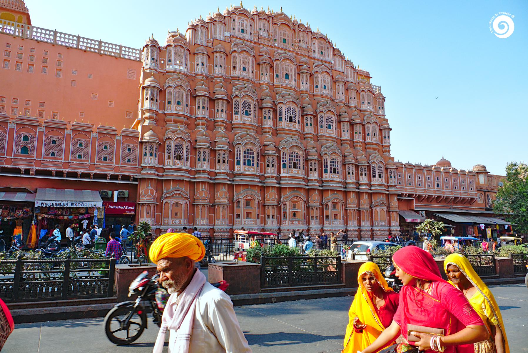 D'où l'Envie de Voyager - Inde - Jaipur