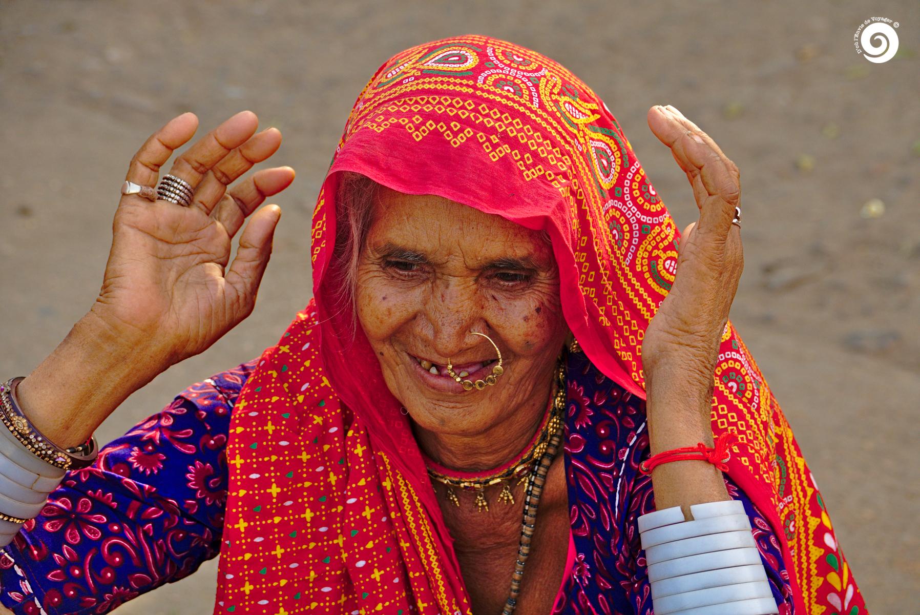 D'où l'Envie de Voyager - Inde - Portrait