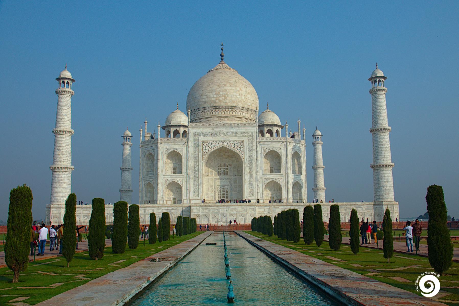 D'où l'Envie de Voyager - Inde - Taj Mahal